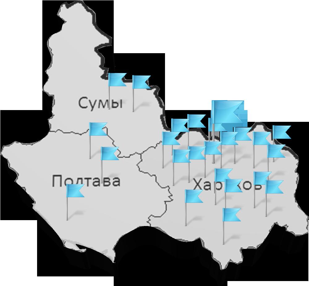 Географія спілки
